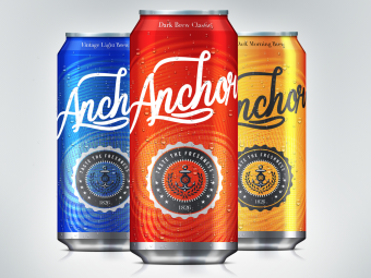 Anchor Ale Can Design