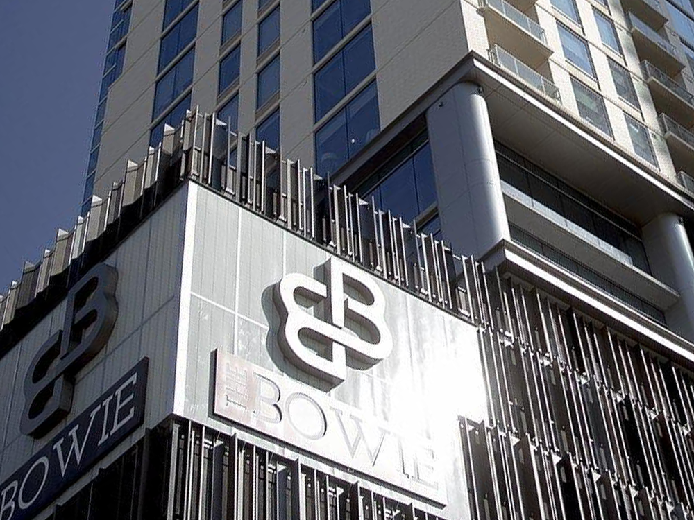 The Bowie High Rise Luxury Building Branding