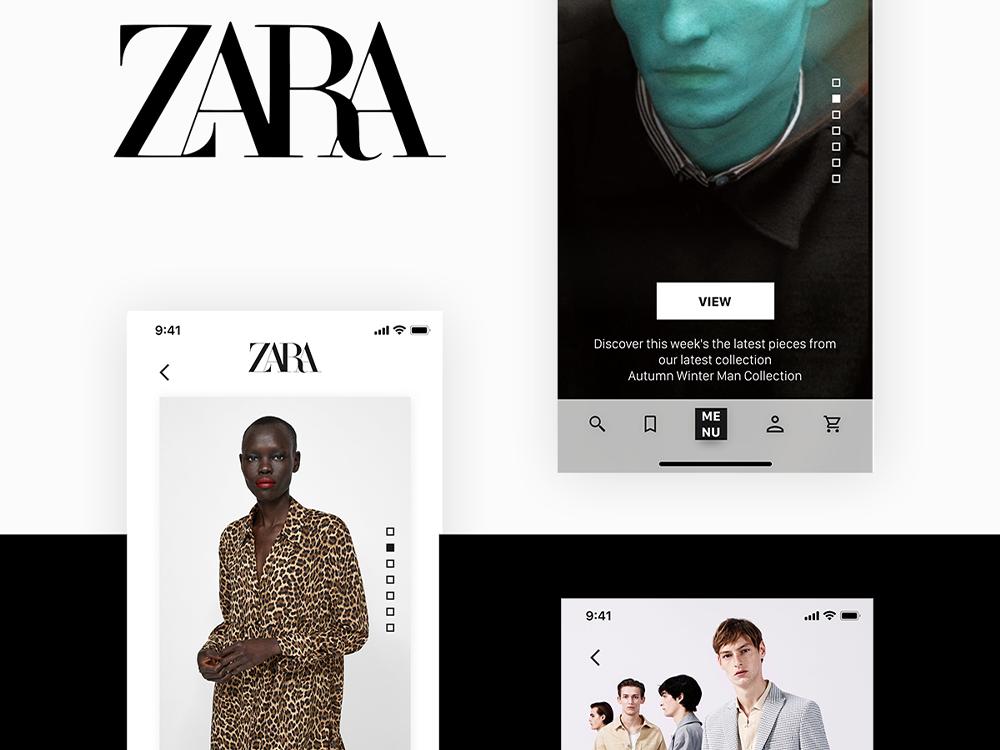 "Zara ""Trends"" Mobile Application"